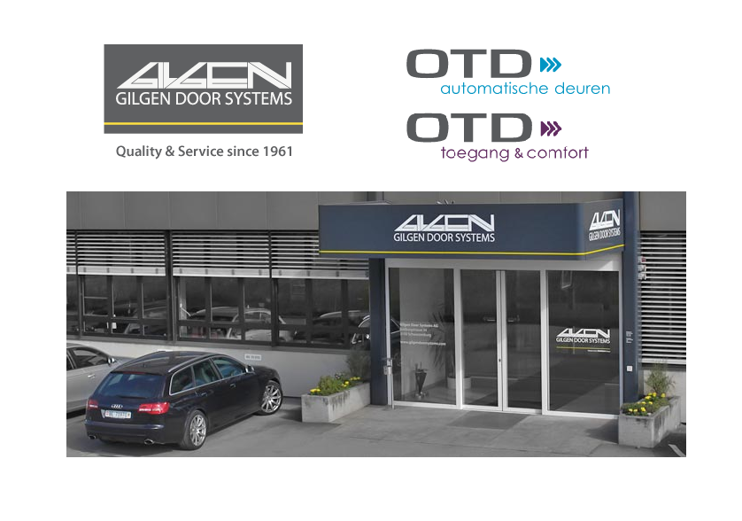 Gilgen door systems OTD distributeur